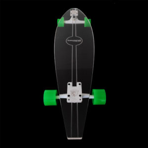 Longboard Transparente Earth - Beyond Longboards